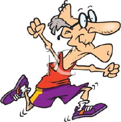 A_Colorful_Cartoon_Grandpa_Running_a_Race_Royalty_Free_Clipart_Picture_100708-172101-630053